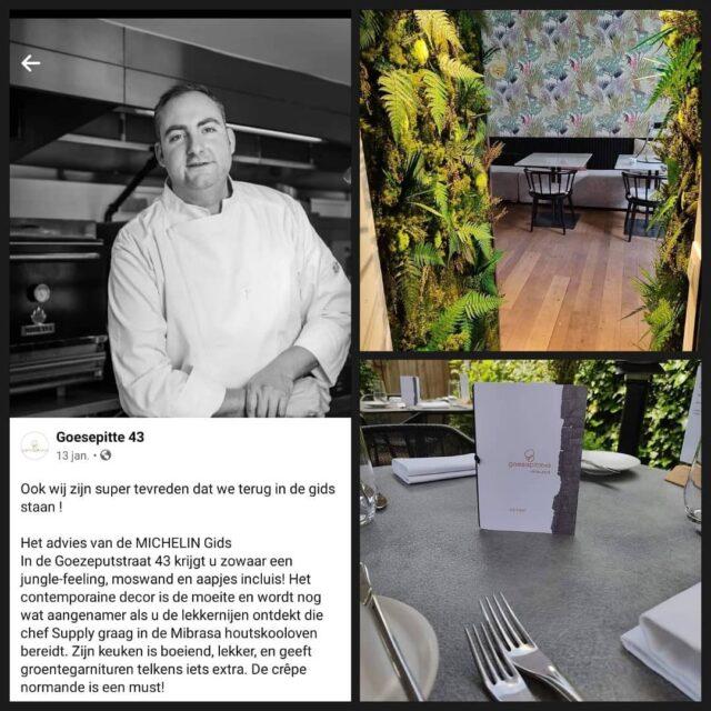 Wij zijn super enthousiast over de samenwerking met restaurant @goesepitte43 in Brugge. Lekker en gezellig restaurant waar je culinair kunt genieten met een allergie. #glutenvrijrestaurant #glutenvrijeten #glutenvrij #tarwevrij #lactosevrij #koemelkvrij #brugge #michelinguide